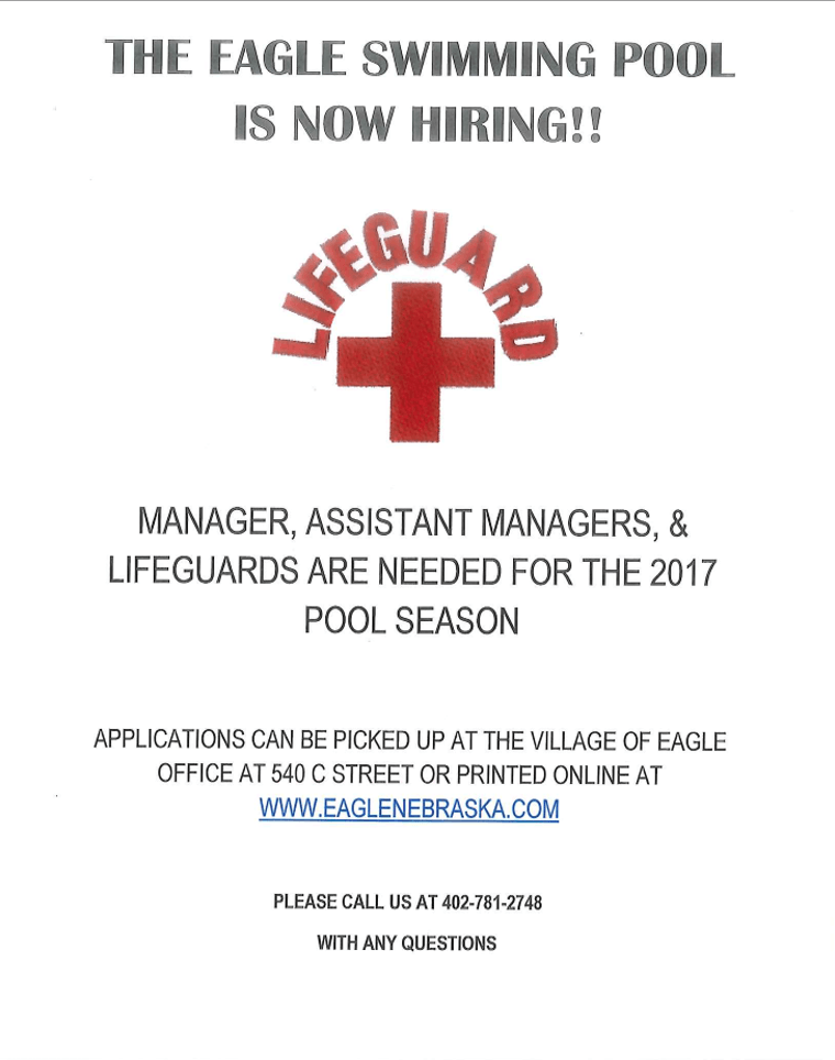 Eagle Pool Hiring