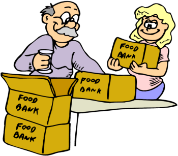 Food Bank Volunteer Clip Art Images & Pictures - Becuo