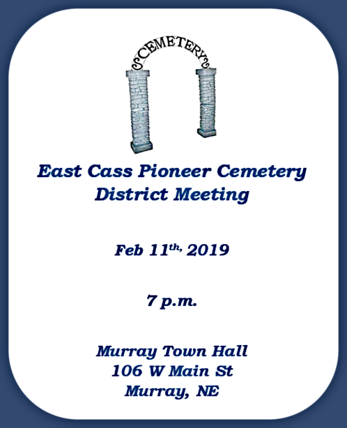 2019 01 30 ECC Cemetery Meeting 1