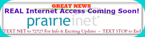 PrairieInet Internet Access
