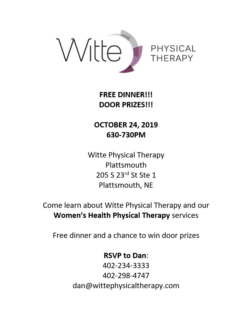 Womens Health Physical Therapy Flyer 1